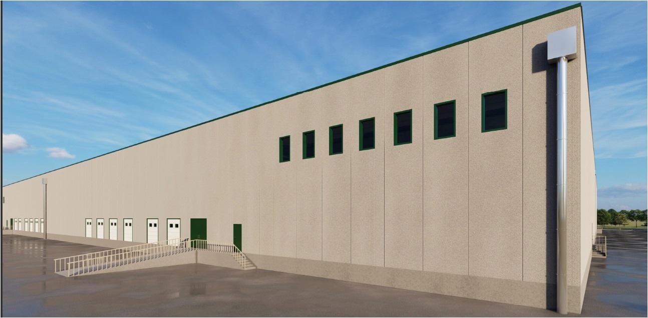 Bressana Bottarone (PV) – magazzino logistico