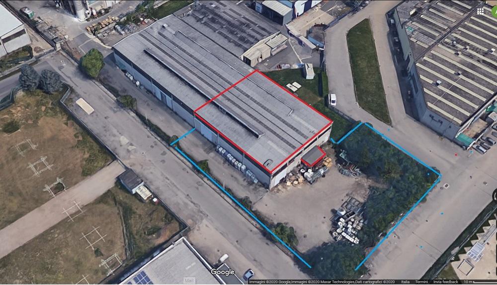 Rescaldina (MI) – Porzione di capannone industriale