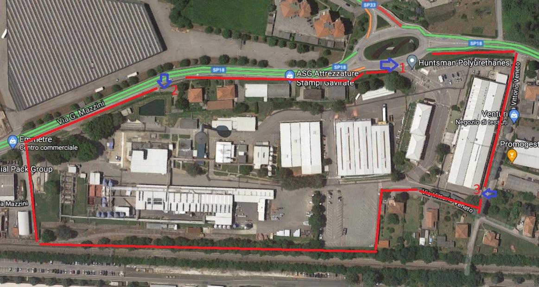 Ternate (VA) – Complesso industriale settore chimico